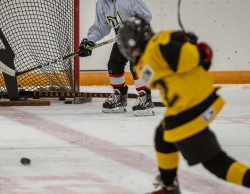 Hockey Sports Camps with athletes training Hockey
