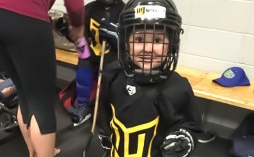 kindergarten p3 hockey skills