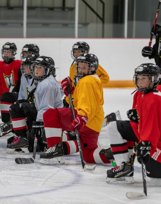 P3 Hockey ties with Rocky View County schools