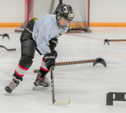 P3 Sports Hockey Skills with precise edge control and puck Training